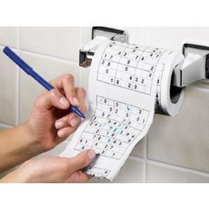 Toaletný papier sudoku