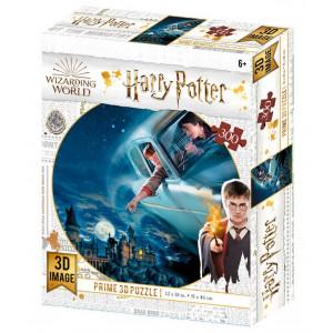 Harry Potter - 3D puzzle - Harry a Ron v létajícím autě - 300