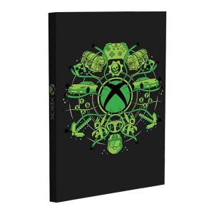 Xbox - svítící poznámkový blok
