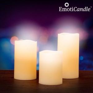 Elektrické svíčky z vosku (ovládané fouknutím)