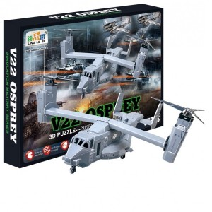 3D puzzle - Helikoptéra Osprey