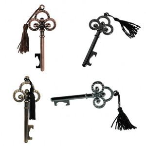 Otvírač lahví ve tvaru klíče