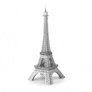 Kovové 3D puzzle (Eiffelova věž)