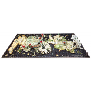 Game of Thrones 4D Puzzle - mapa Westerosu  DELUXE