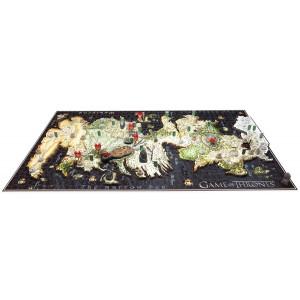 Game of Thrones 4D Puzzle - mapa Westerosu  DELUXE