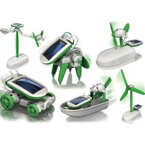 Solárny robot 6v1