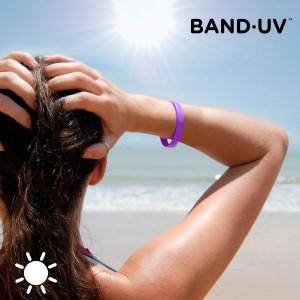 Náramok - indikátor UV žiarenia