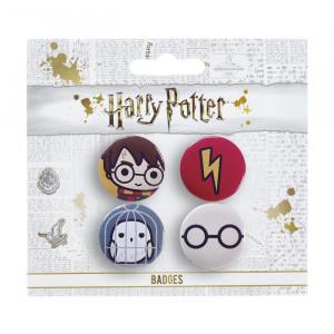 Harry Potter - sada odznaků