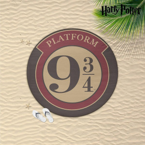 Harry Potter - osuška 9 a 3/4 kruhová