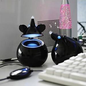 USB myšová reproduktory