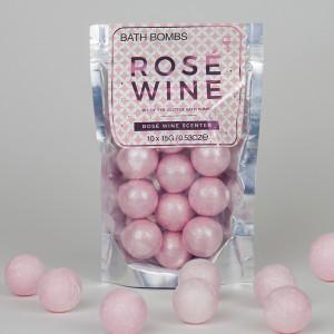 Koupelová bomba - Růžové víno