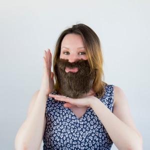 Falešná brada - 3ks