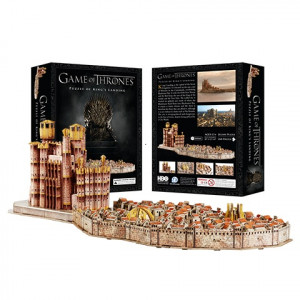 Game of Thrones - 3D puzzle Králův přístav