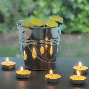 Repelentní svíčky v kyblíku - 50ks