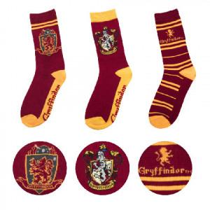 Harry Potter - ponožky - set 3 párů