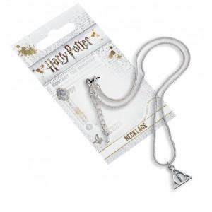 Harry Potter - náhrdelník Relikvie smrti