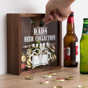 Dekorační box na pivní vršky
