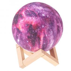 3D lampa - hvězdy