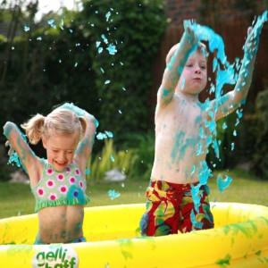 Koupelová želatina pro děti + bazén