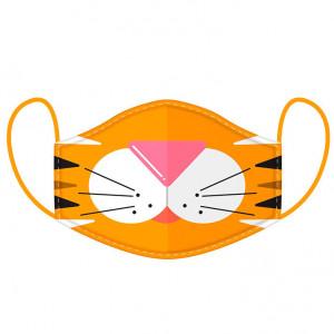 Rouška na obličej - Tygr L