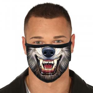 Rouška na obličej - Wolf