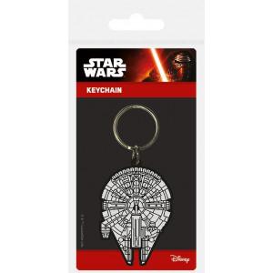 Star Wars - kľúčenka Millennium Falcon
