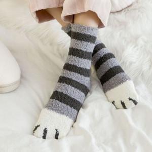 Veselé ponožky - tlapky
