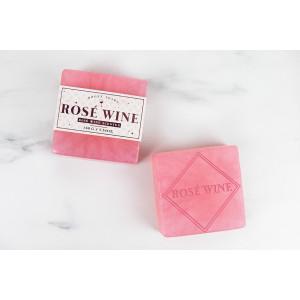 Mýdlo - růžové víno