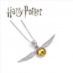 Harry Potter - náhrdelník Zlatá střela DELUXE