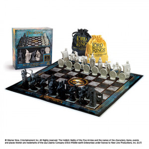 Pán Prstenů - šachy - boj o Středozem