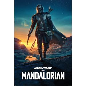 Mandalorian - plagát Nightfall