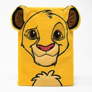 Leví kráľ - plyšový poznámkový blok Simba