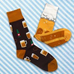 Veselé ponožky - pivo