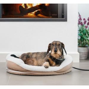 Vyhřívaná postel pro psy a kočky