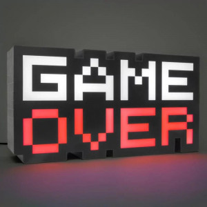 GAME OVER světlo