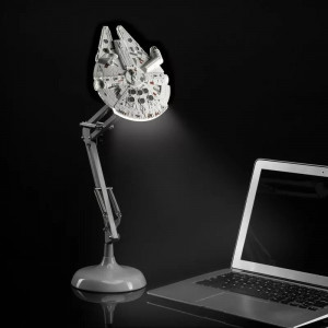 Star Wars - Stolná lampa - Millennium Falcon