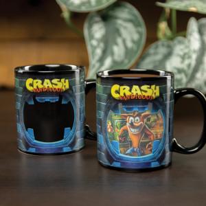 Crash Bandicoot - hrnek Crash teplocitlivý
