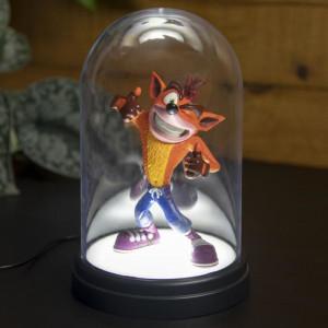 Crash Bandicoot - podsvícená figurka
