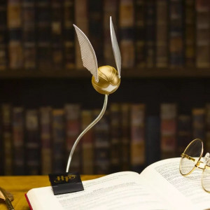 Harry Potter -  Zlatá strela mini lampa na čítanie