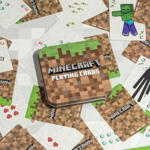 Minecraft - hrací karty