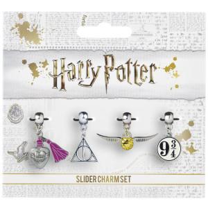 Harry Potter - set 4 ks čarodějnických přívěsků
