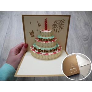 3D přání k narozeninám