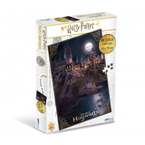 Harry Potter- puzzle Rokfort - 1000