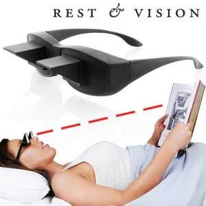 Okuliare na oddych a horizontálne videnie