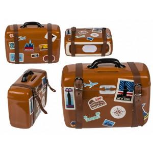 Cestovatelská sporkasa - kufr