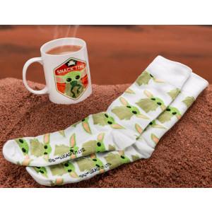 Mandalorian - Dítě sada ponožek a hrnek