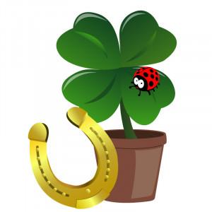 Vypěstuj si štěstí - plastový květináček