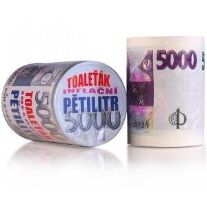 Toaletní papír - 5000Kč
