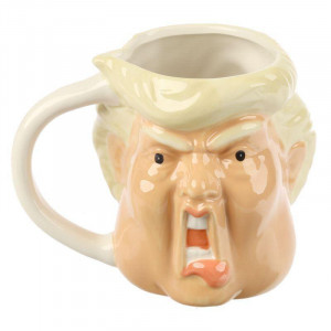 Hrnek - bývalý prezident Trump
