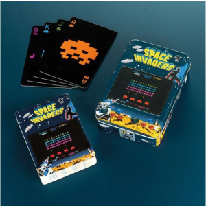 Space Invaders - hrací karty